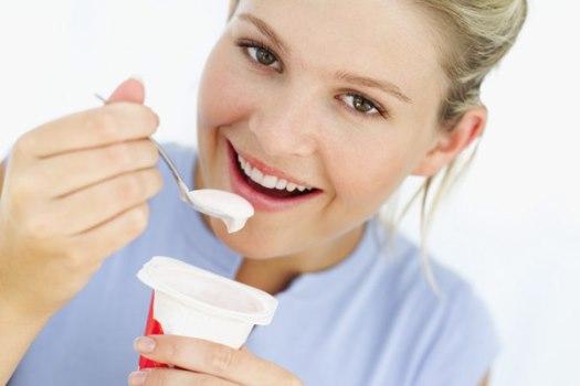 O iogurte é uma excelente fonte de proteínas